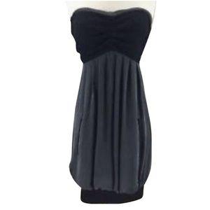 YaYa strapless Bubble Night out Dress L